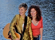 Lisa Ferraro and Erika Luckett, Acoustic World Soul Musicians, natick, ma, instructor