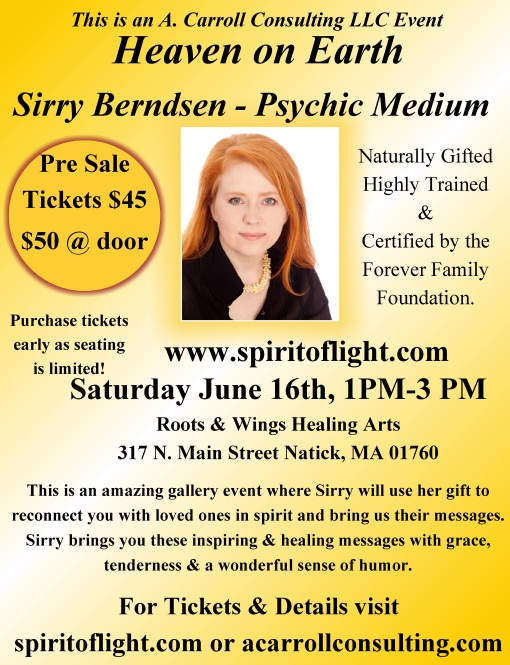Heaven on Earth with Psychic Medium Sirry Berndsen