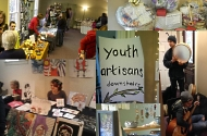 Artisan Market and Youth Entrepreneur Sale during Autumn Art & Music Fest 2015 , roots and wings, events, workshops, yoga studio, natick, ma