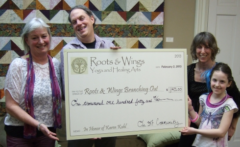 roots and wings yoga and healing arts: branching out non profit
